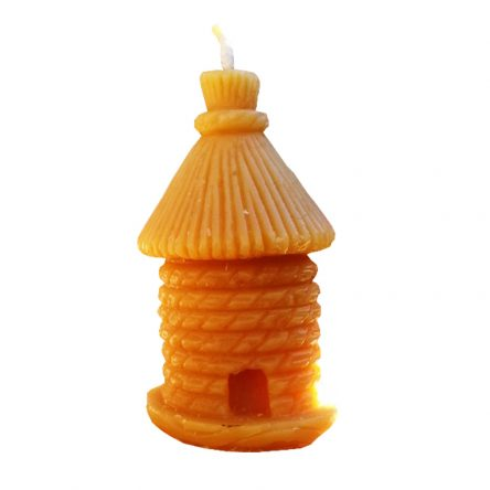 Pure Beeswax Votive Beehive Candle