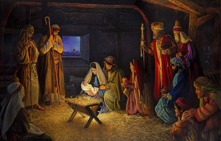 The Real Christmas Story for Children