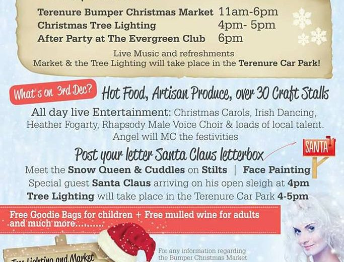 Terenure Christmas Festival and Bumber Village Market