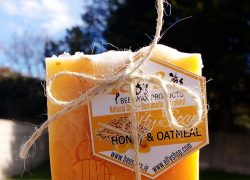 Organic Honey & Oatmeal Bar Soap