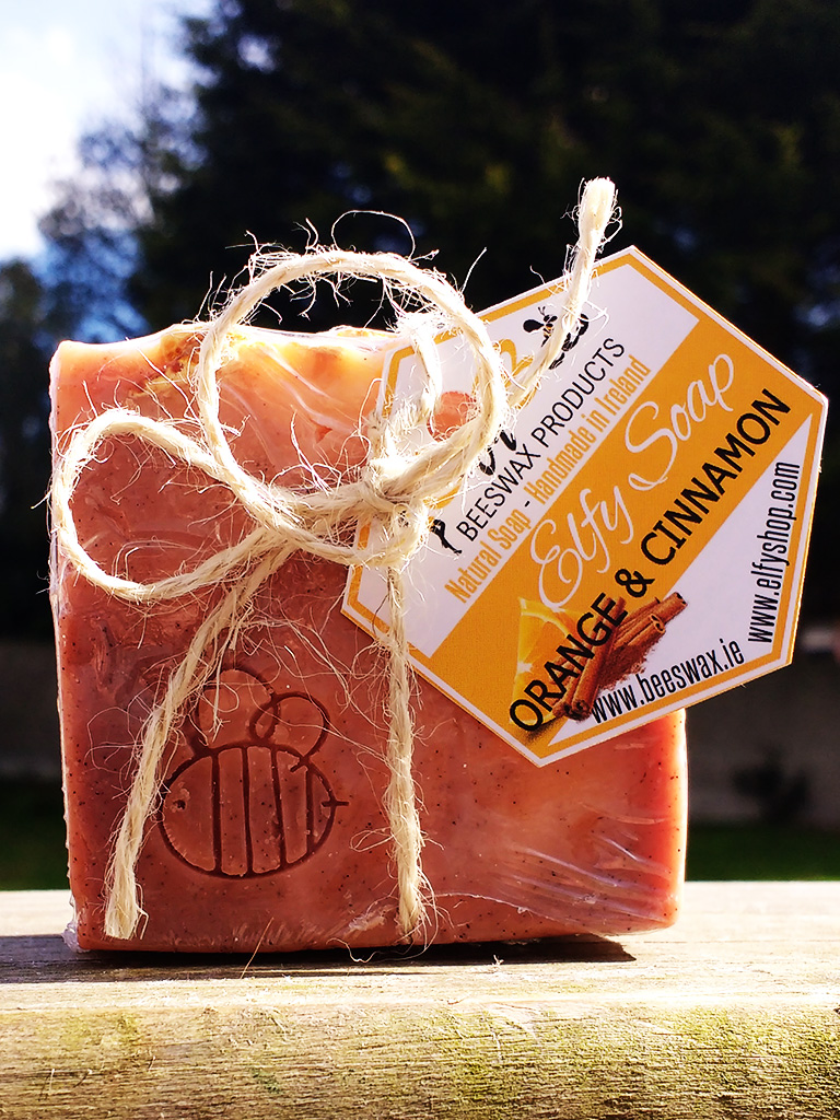 Organic Orange and Cinnamon Bar Soap